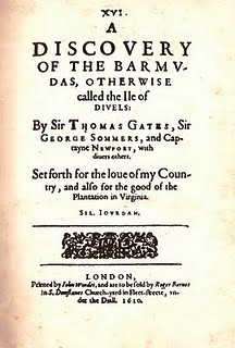 1610 book Discovery of Bermuda