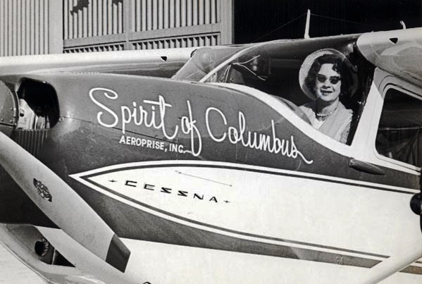 1964 first woman  to fly solo around the world