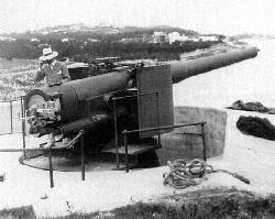 Alexandra Battery guns