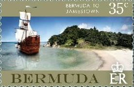 Bermuda stamp Jamestown