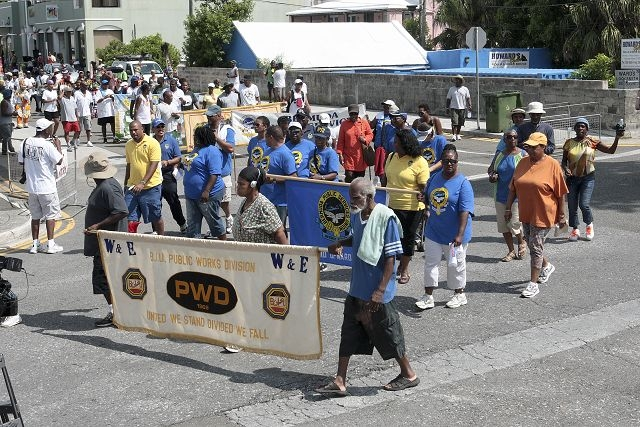 Bermuda annual Labour Day parade