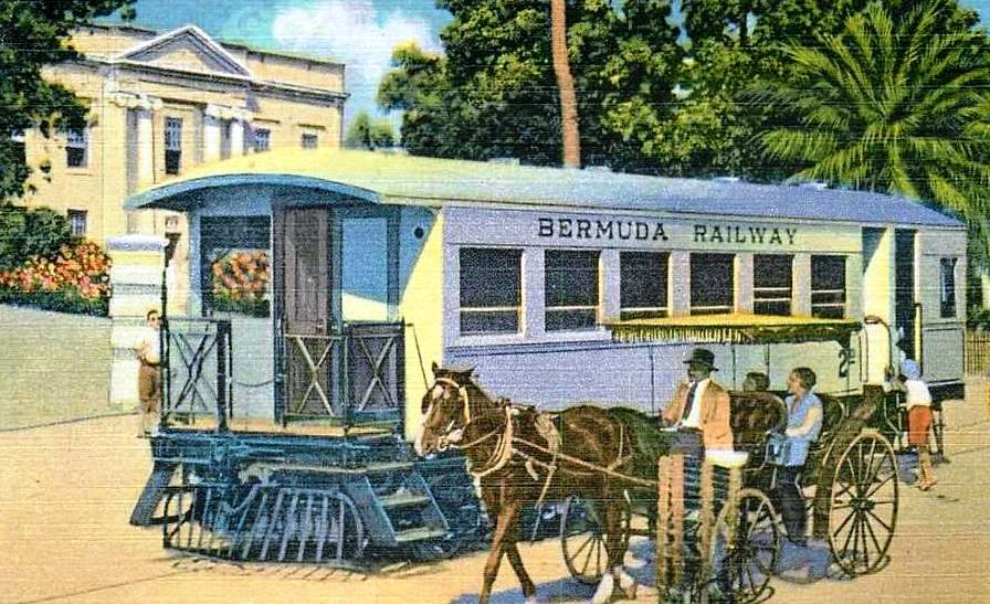 Bermuda by rail 1930s
