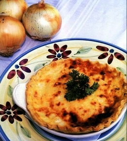 Bermuda Onion Tart (Royal Gazette photo)