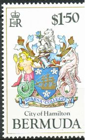 City of Hamilton stamp