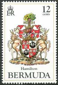 Hamilton Parish stamp