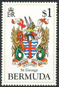 St, George's Parish stamp