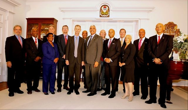 Bermuda Cabinet from December 19, 2012