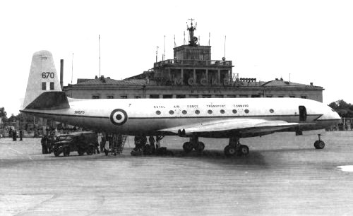 RAF Comet 4 of Transport Command