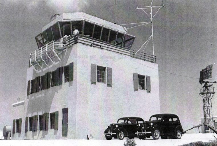 Kindley AFB new control tower 1953