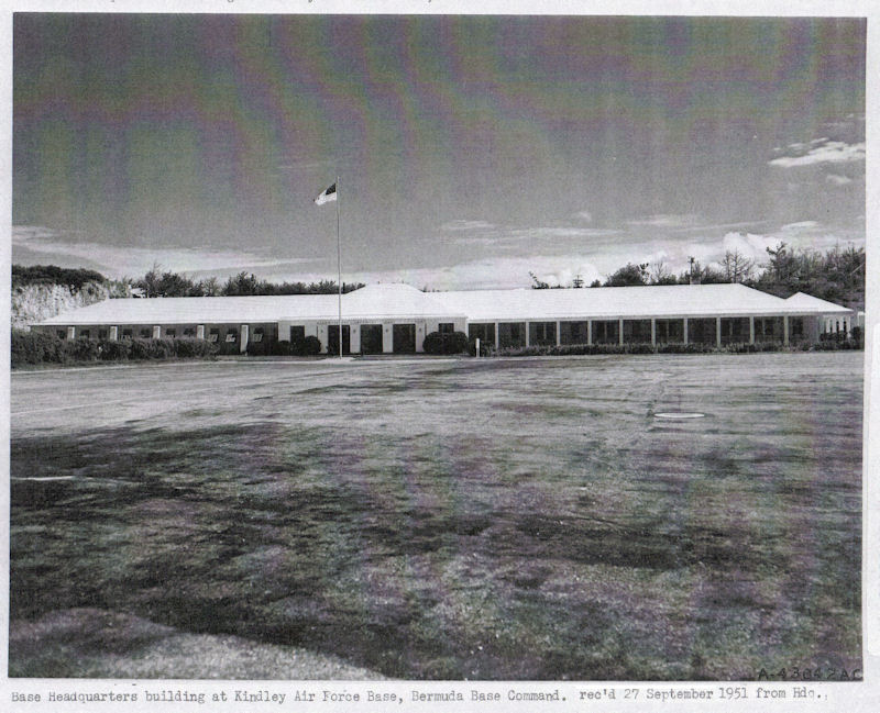 Kindley AFB HQ 1951