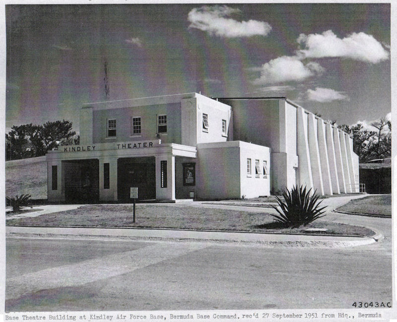Kindley AFB Movie Theater 1951