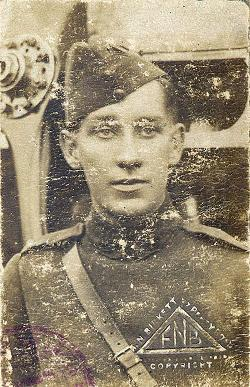 Lieutenant Arthur Rowe Spurling, WW1