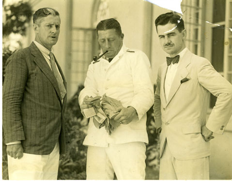 Lowell Thomas with Carveth Wells 1928, Bermuda