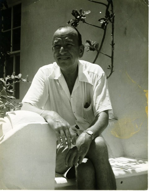 Noel Coward in Bermuda