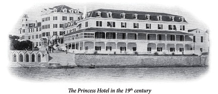 Princess Hotel in the 19th century