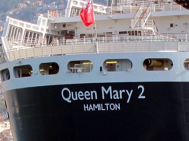 Queen Mary 2 Bermuda registered