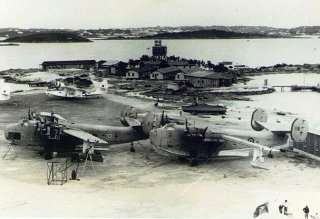 Royal Air Force at Darrell's Island, Bermuda, WW2