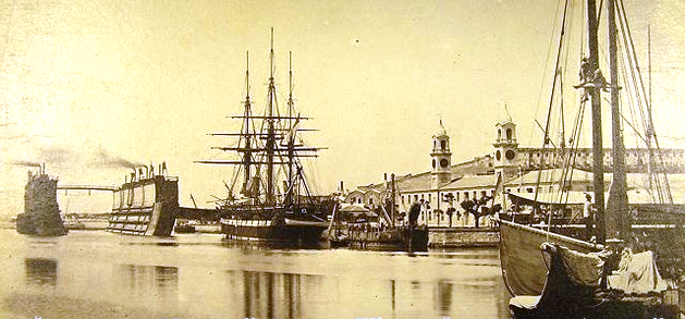 Royal Naval Dockyard 1865