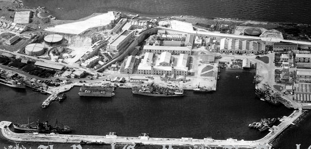 Royal Navy Dockyard 1948