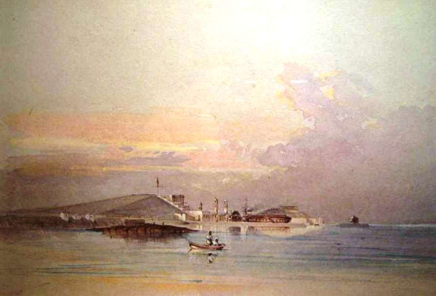 Royal Naval Dockyard again by Gaspar Le Merchant Tupper