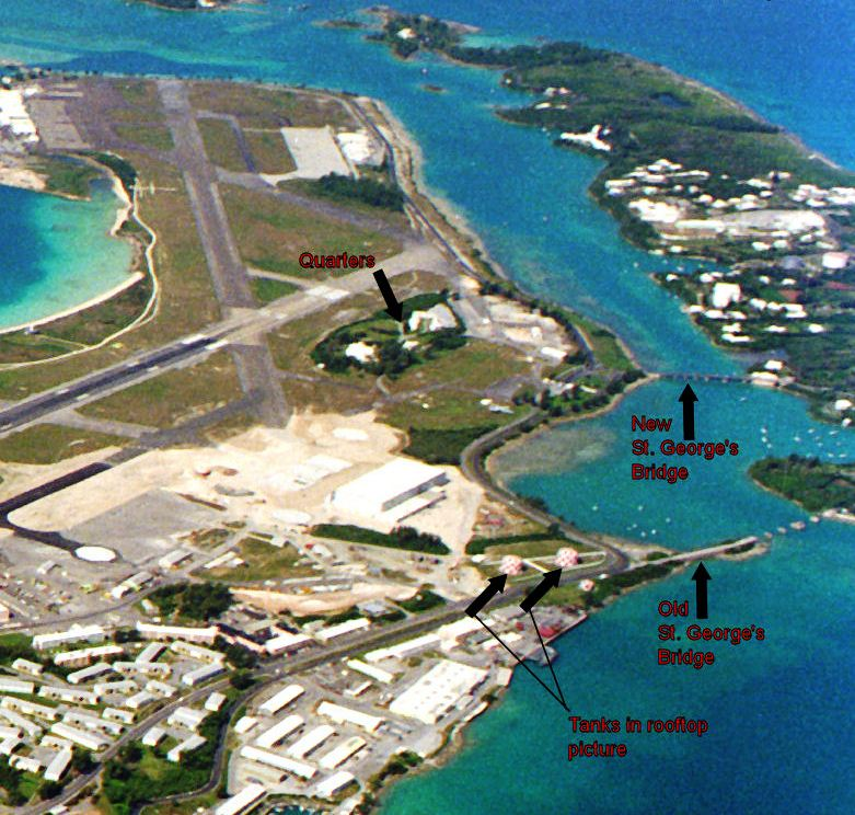 USNAS Bermuda, formerly Kindley AFB, Bermuda