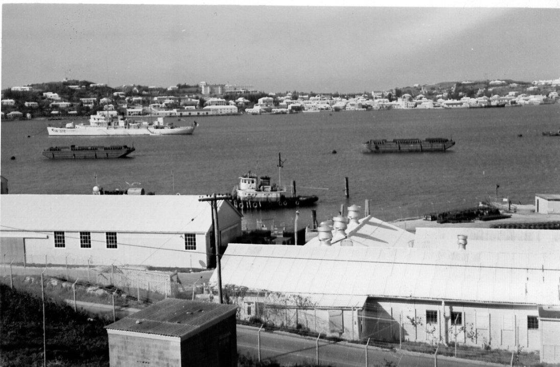 US Navy, Ordnance Island, St. George's, World War 2