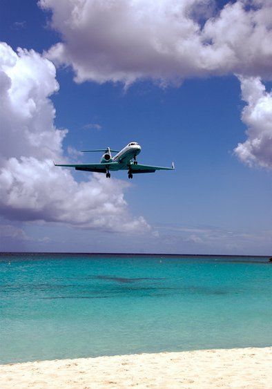 Aircraft over Bermuda