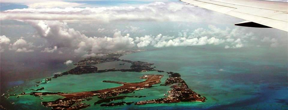 Airline flights to Bermuda