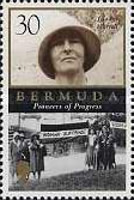 Gladys Morrell postage stamp