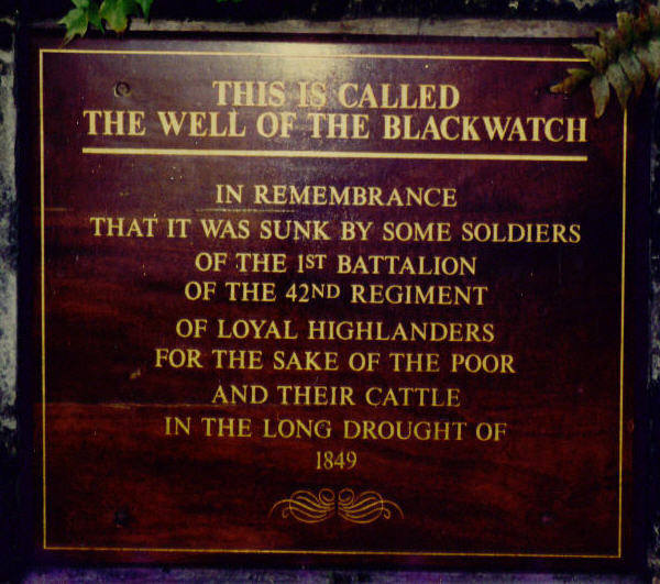 Black Watch Well