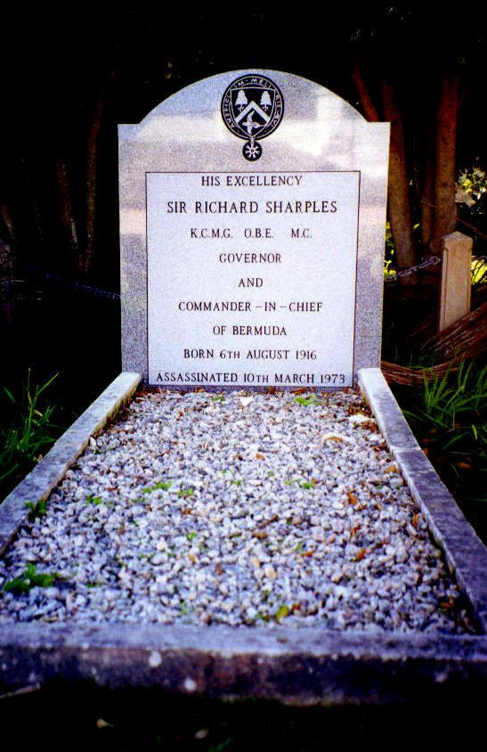 Grave of Governor Sir Richard Sharples