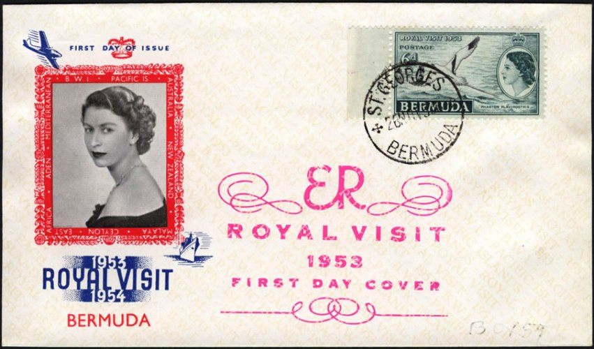 First Day Cover for November 23 1953 Royal Visit