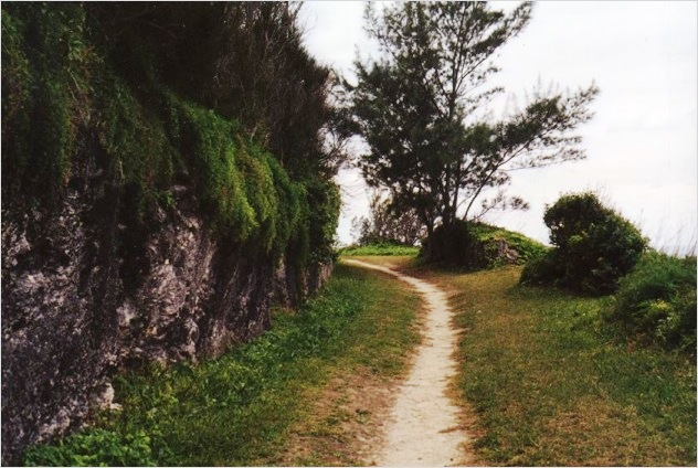 Railway Trail in Hamilton Parish