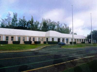 Kindley AFB HQ  Administration building 1