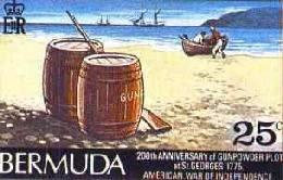 Bermuda Gunpowder Plot for USA