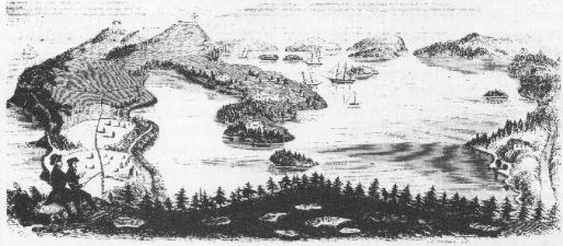 St. George's Harbour, 19th century
