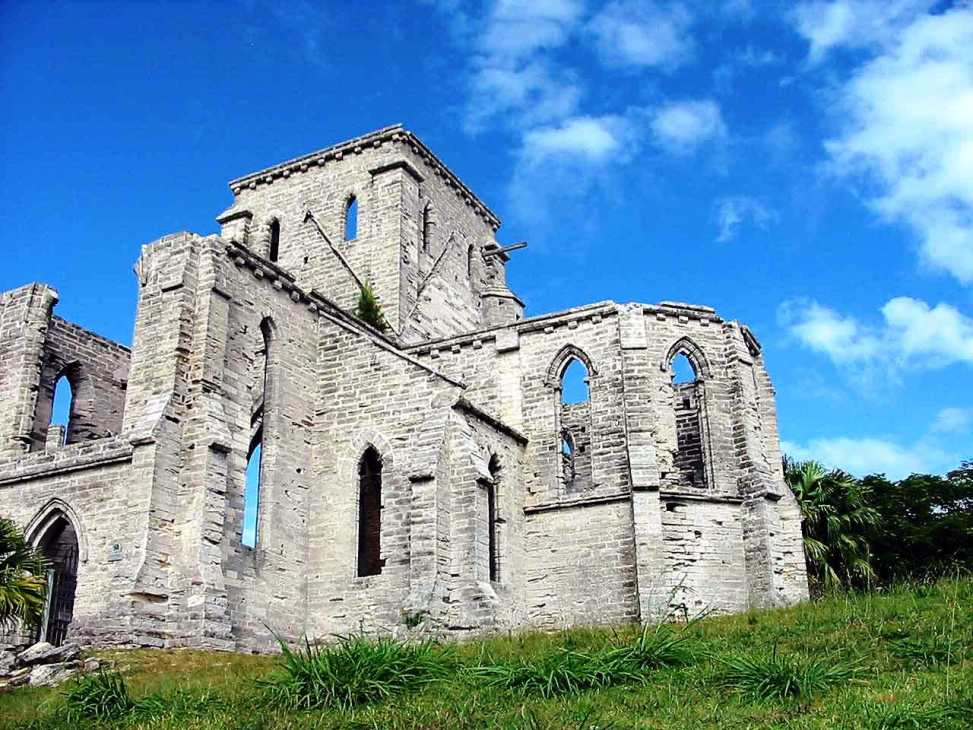 Unfinished Church, St. George's, Bermuda
